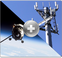 Satellite & GSM antenna